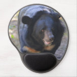 Black Spectacled Bear Gel Mouse Pad