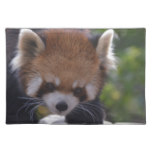 Prowling Red Panda Placemat
