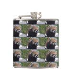 Sweet Red Panda Bear Flask