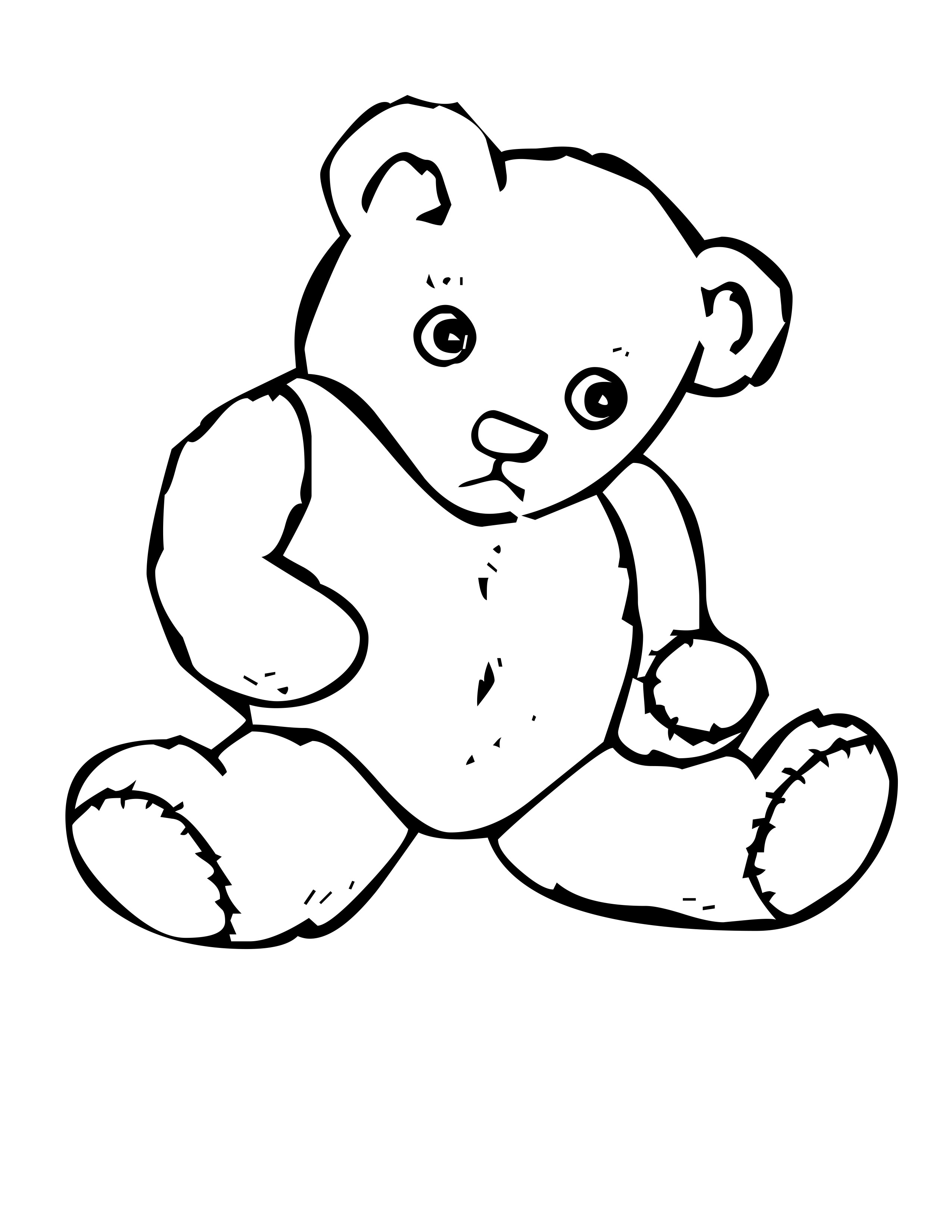 Free Bear Coloring Pages Coloring Pages Of Bears